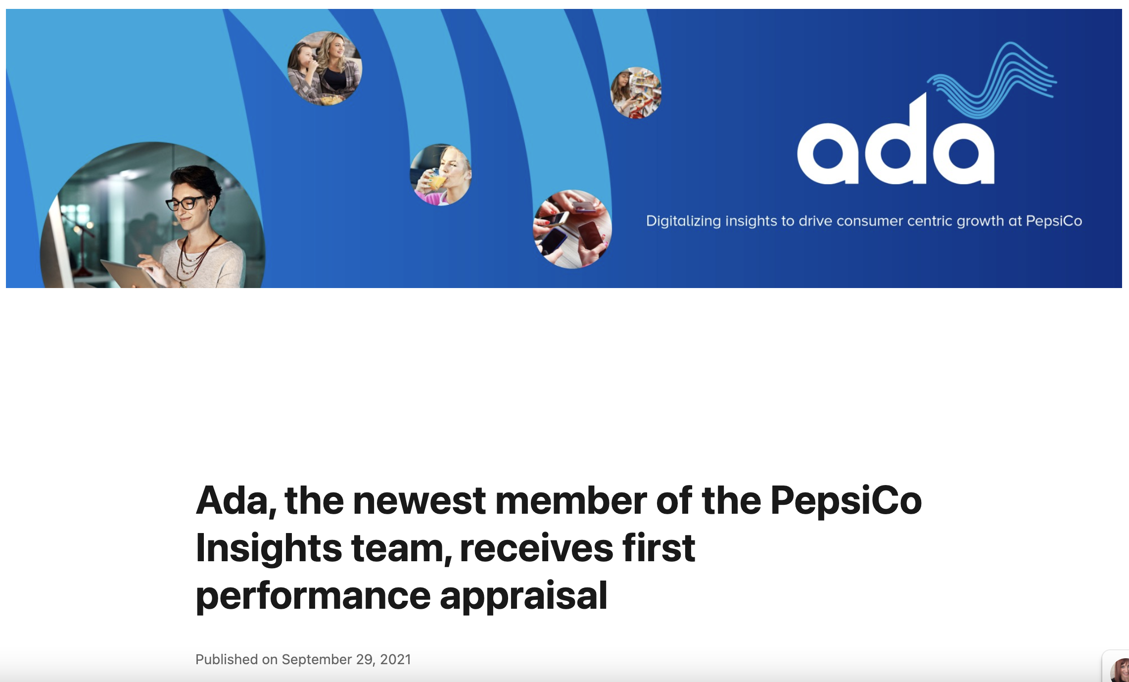 Ada's performance review